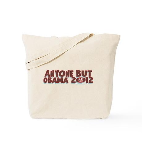 Anyone But Obama Tote Bag