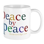 Peace By Peace (color) Mugs