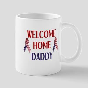 Welcome Home Daddy - Ribbon Mug