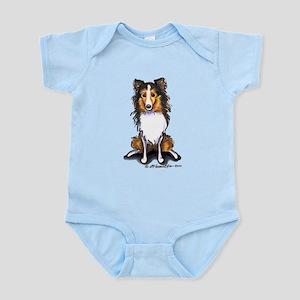Sable Sheltie Lover Infant Bodysuit