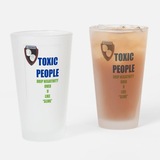 Toxic People Drinking Glass