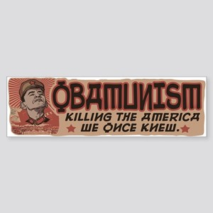 OBAMunism kills U.S. Sticker (Bumper)