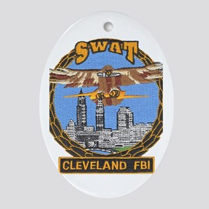 Cleveland FBI Ornament (Oval)