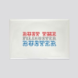Bust the Filibuster Rectangle Magnet