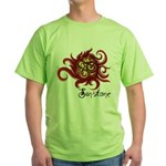 2010 Symposium White Green T-Shirt