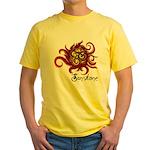 2010 Symposium White Yellow T-Shirt