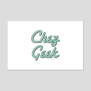 Chez Geek Mini Poster Print