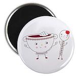 Borscht & Spoon Magnet