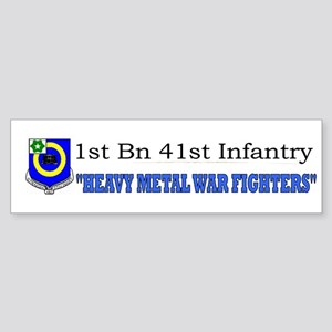 1st Bn 41st Inf Sticker (Bumper)