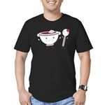 Borscht & Spoon Men's Fitted Color T-Shirt