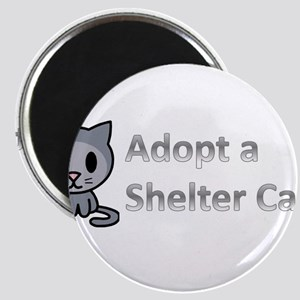 Adopt a Shelter Cat Magnet