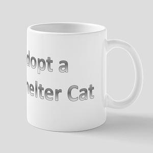 Adopt a Shelter Cat Mug