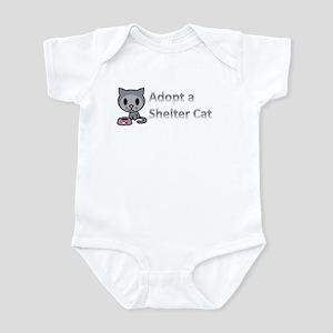 Adopt a Shelter Cat Infant Bodysuit