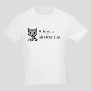 Adopt a Shelter Cat Kids Light T-Shirt