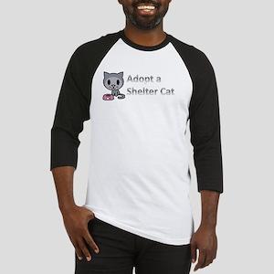 Adopt a Shelter Cat Baseball Jersey