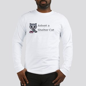 Adopt a Shelter Cat Long Sleeve T-Shirt