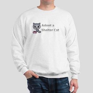 Adopt a Shelter Cat Sweatshirt