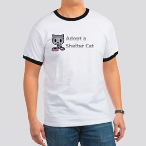 Adopt a Shelter Cat Ringer T