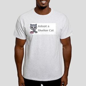 Adopt a Shelter Cat Light T-Shirt