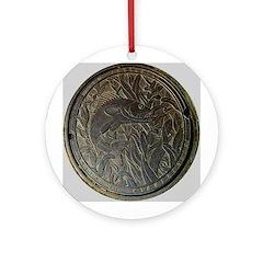 minneapolis minnesota sewer c Ornament (Round)