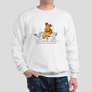 Welsh Terrier World Sweatshirt