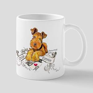 Welsh Terrier World 11 oz Ceramic Mug