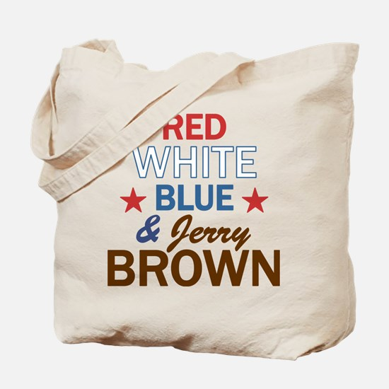 Jerry Brown Tote Bag