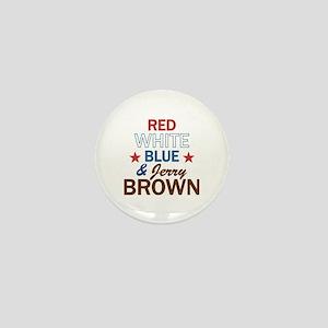 Jerry Brown Mini Button