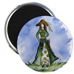 St. Patrick's Day Lass Magnet