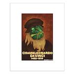 Chameleonardo Da Vinci Small Poster