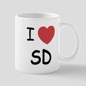 I heart SD Mug