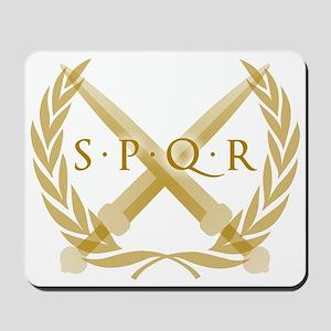 SPQR Roman Republic Mousepad