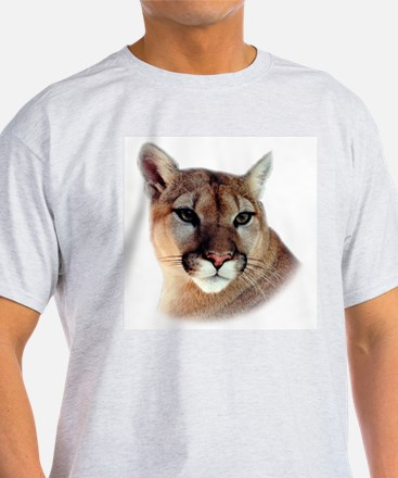 Cindy Unisex CougarWear Ash Grey T-Shirt