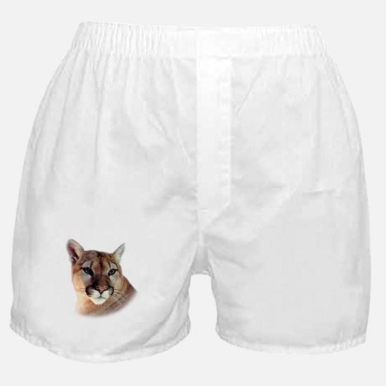 Cindy Unisex CougarWear Boxer Shorts