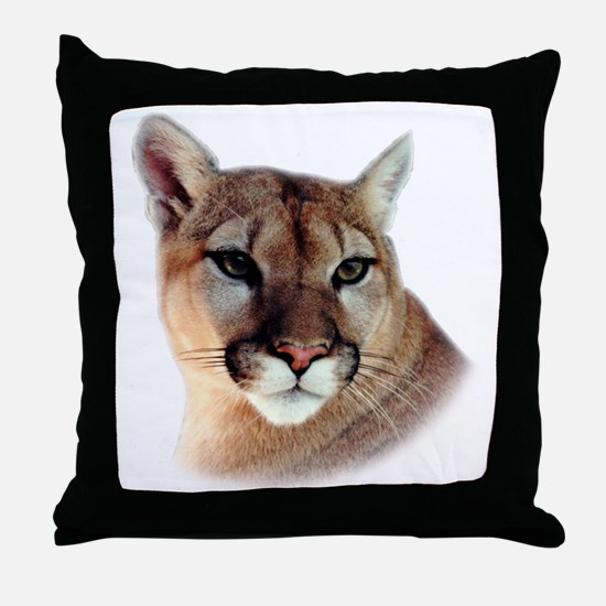 Cindy Home & Office CougarWea Throw Pillow