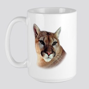 Cindy Home & Office CougarWea Large Mug