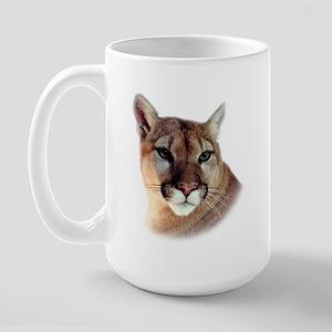 Cindy Home & Office CougarWea Large Mug
