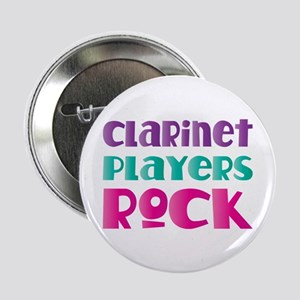"""Clarinet Players Rock 2.25"""" Button"""