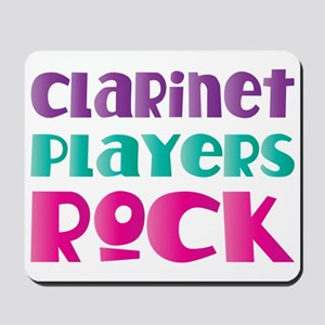 Clarinet Players Rock Mousepad