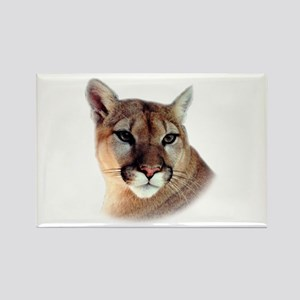 Cindy Printed CougarWear Rectangle Magnet