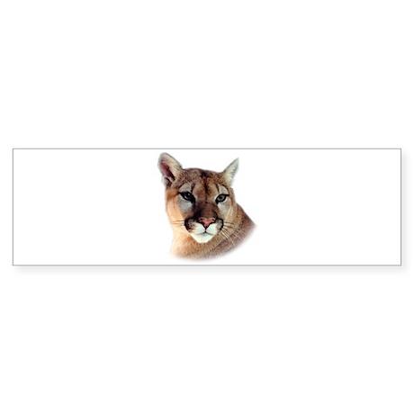 Cindy Printed CougarWear Bumper Sticker