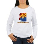 Stand with Arizona Women's Long Sleeve T-Shirt