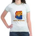 Stand with Arizona Jr. Ringer T-Shirt