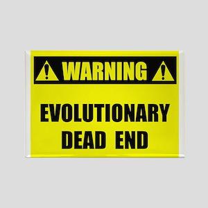 Evolutionary Dead End Rectangle Magnet