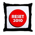Reset Button Throw Pillow
