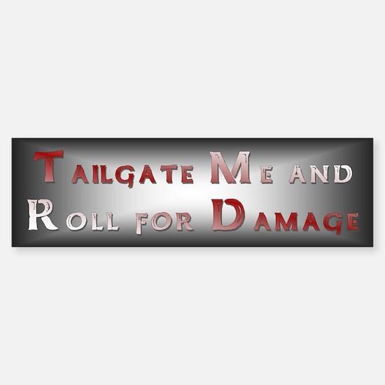 Tailgate Bumper Bumper Sticker