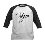 Vegan Kids Baseball Jersey