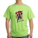 Captain Emo Green T-Shirt