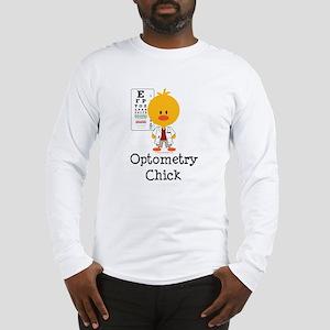 Optometry Chick Optometrist Long Sleeve T-Shirt