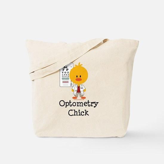 Optometry Chick Optometrist Tote Bag